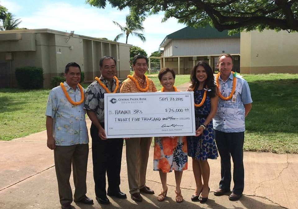 Hawaii 3R's Collecting Donations to Cool Hawaii's Classrooms