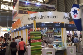 The Australia stand at SIAL China 2015, Asia's largest food and beverage conference