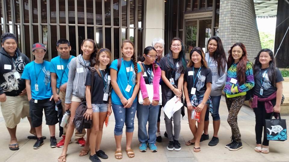 Group Photo at Capitol