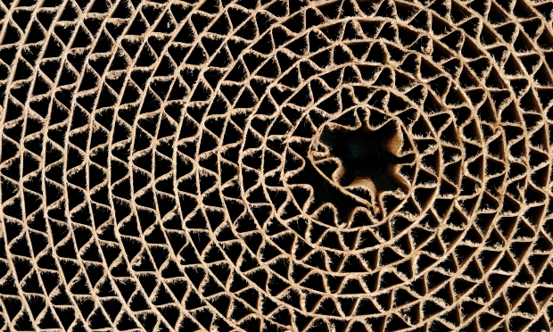 Photo of corrugated reel